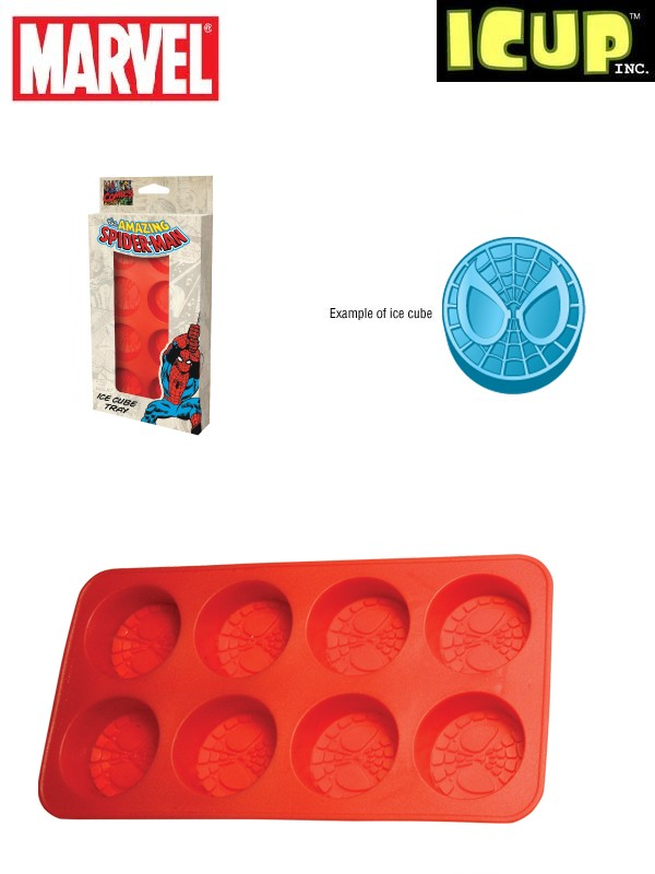 ICUP Marvel Spiderman Mask Ice Cube Tray